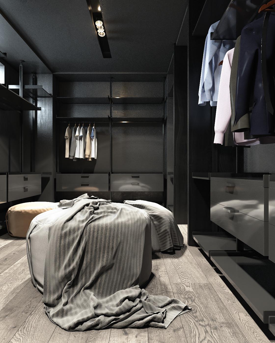 3 Amazing Dark Bedroom Interior Design Roohome