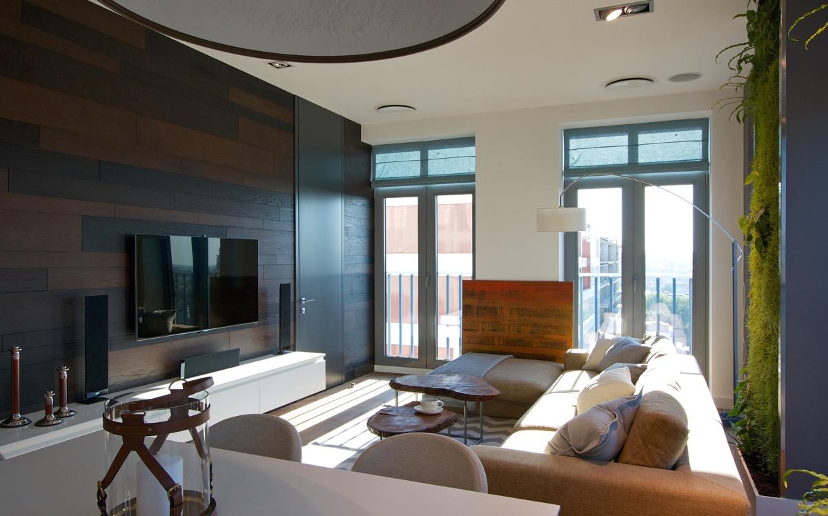 Natural apartment design ideas