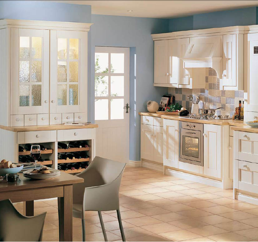 Country Style Kitchens: Country Style Kitchen Ideas With Compact Layouts
