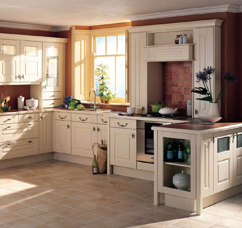Country kitchen style design