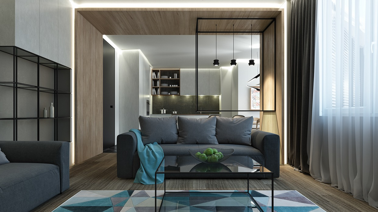 4 posh apartment interior design in a small space for Interior designs by ria
