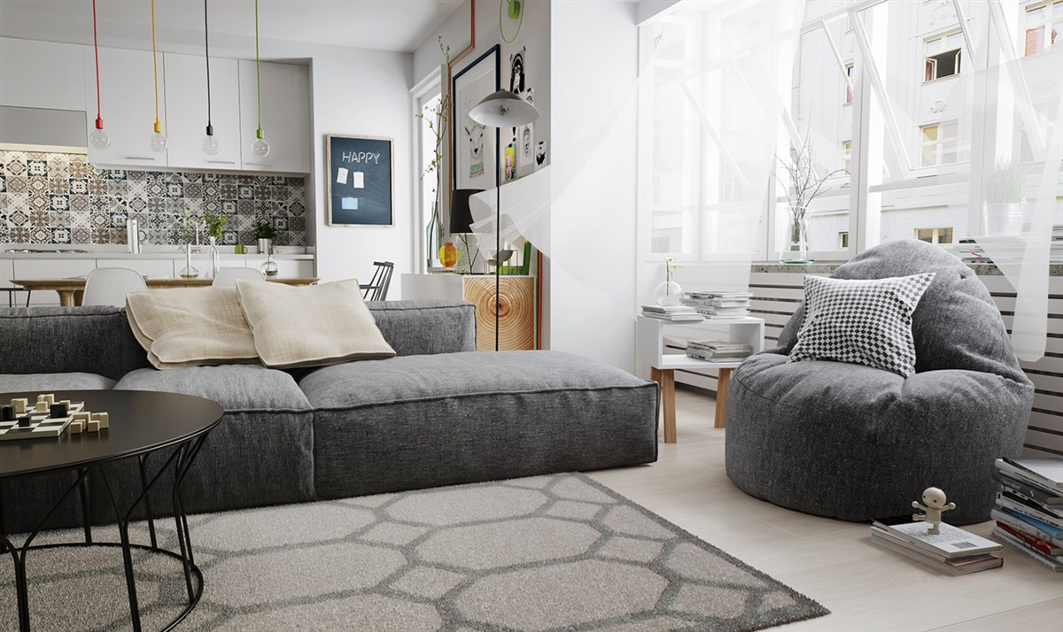 Nordic Design Living Room