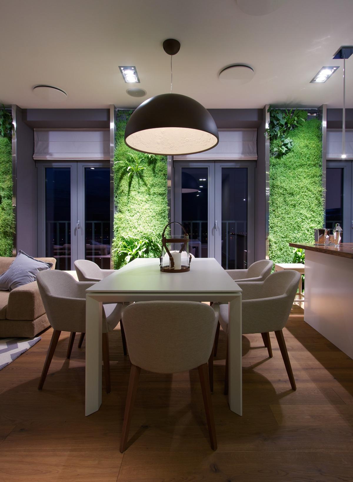 Natural Living Room Design Natural Apartment Interior Design With Beautiful Indoor Gardening
