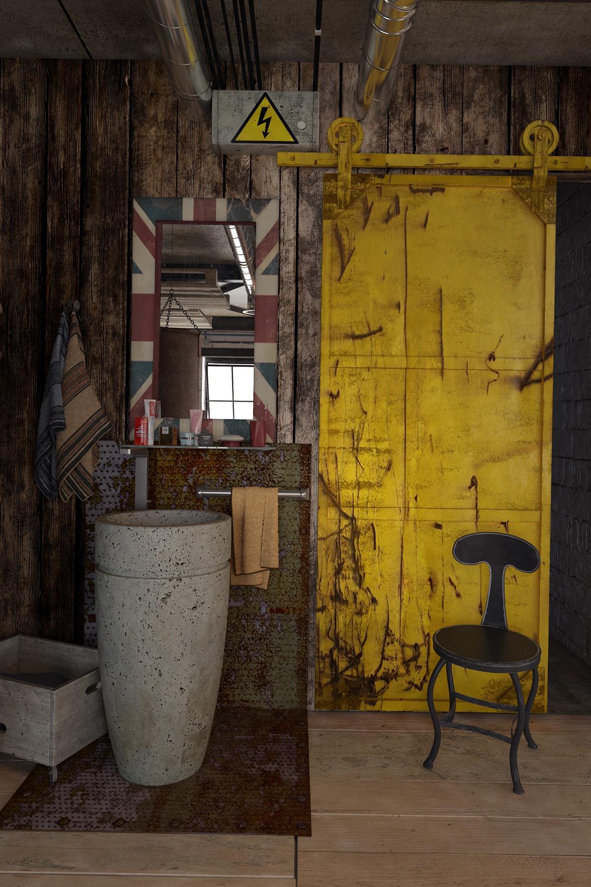 Mens Loft Apartment: Lofts.. Studio apartment interior design ideas. .