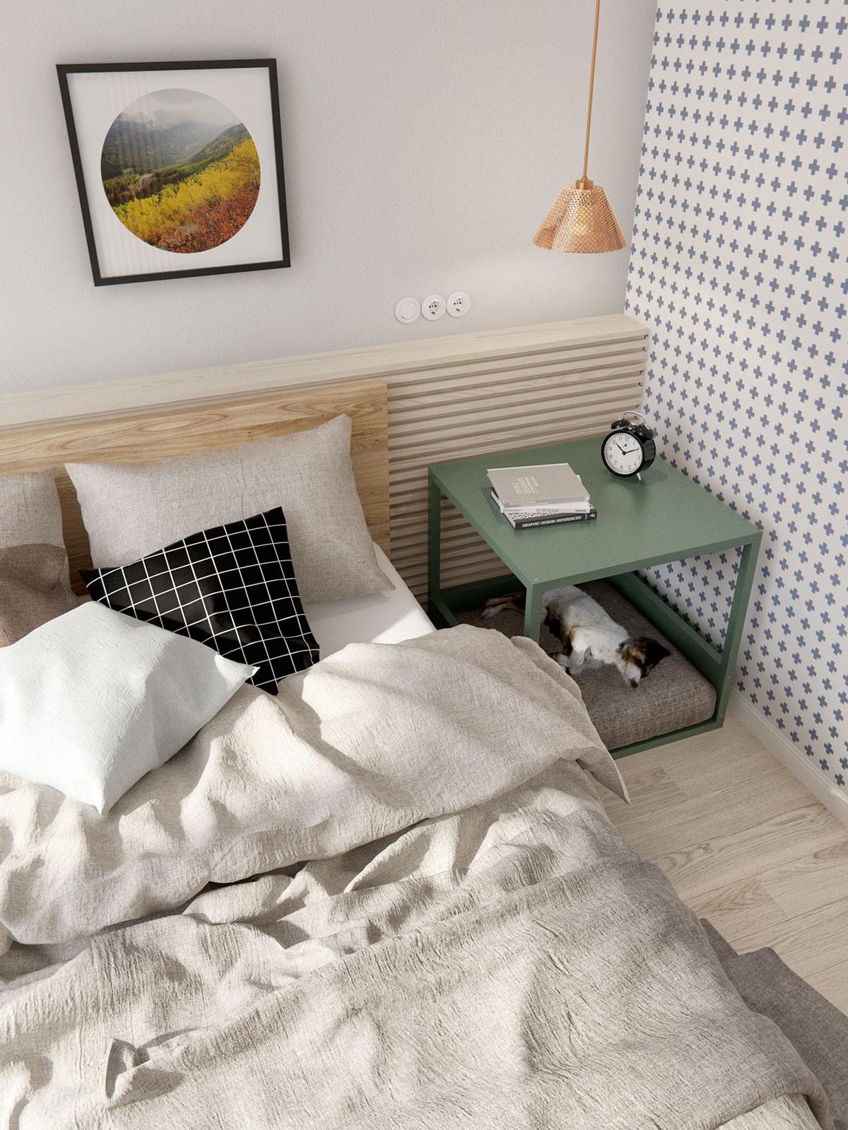 simple bedroom decoration