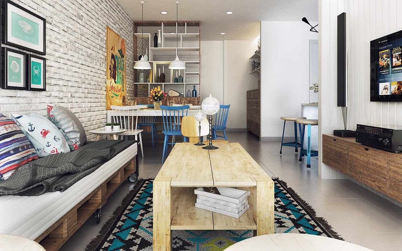 Koj Design Living Room Decorating Ideas
