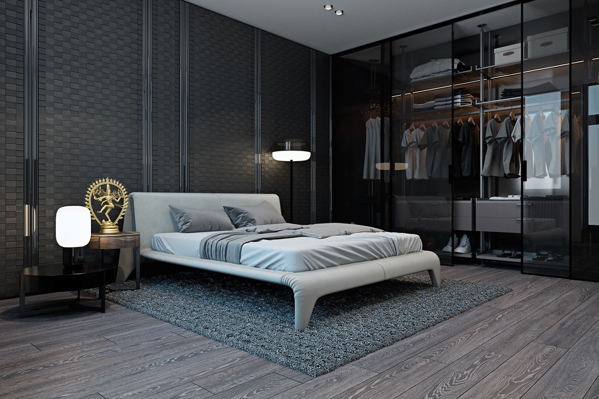 15 luxury bedroom design with elegant wardrobe roohome for Bedroom bad design