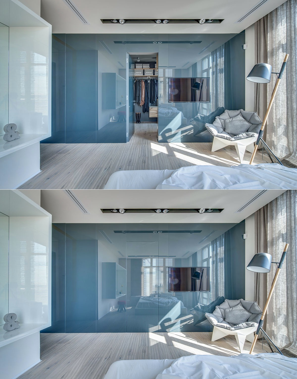 Stylish bedroom makeover