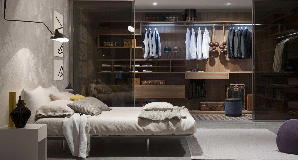 Stylish wardrobe design