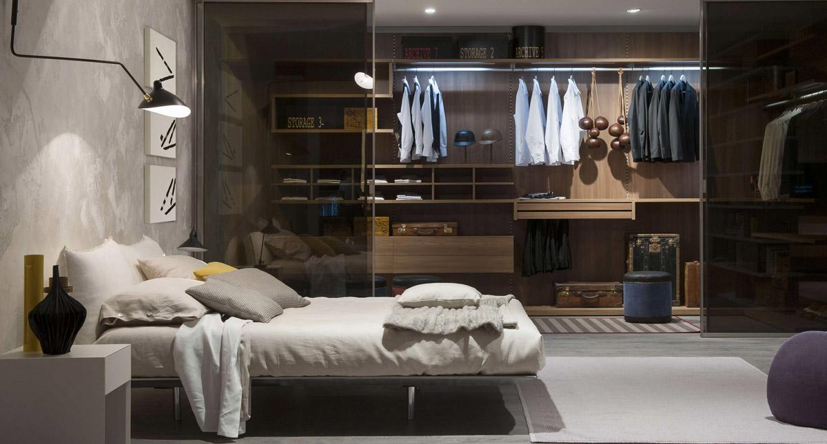 Stylish wardrobe design