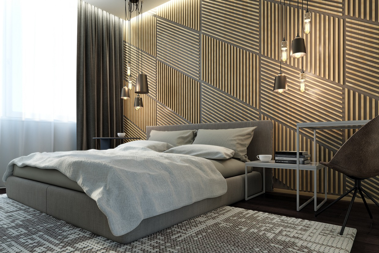 4 posh apartment interior design in a small space for Posh bedroom designs