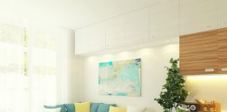 Pastel apartment painting ideas