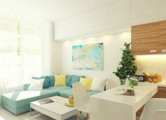 Pastel apartment painting ideas