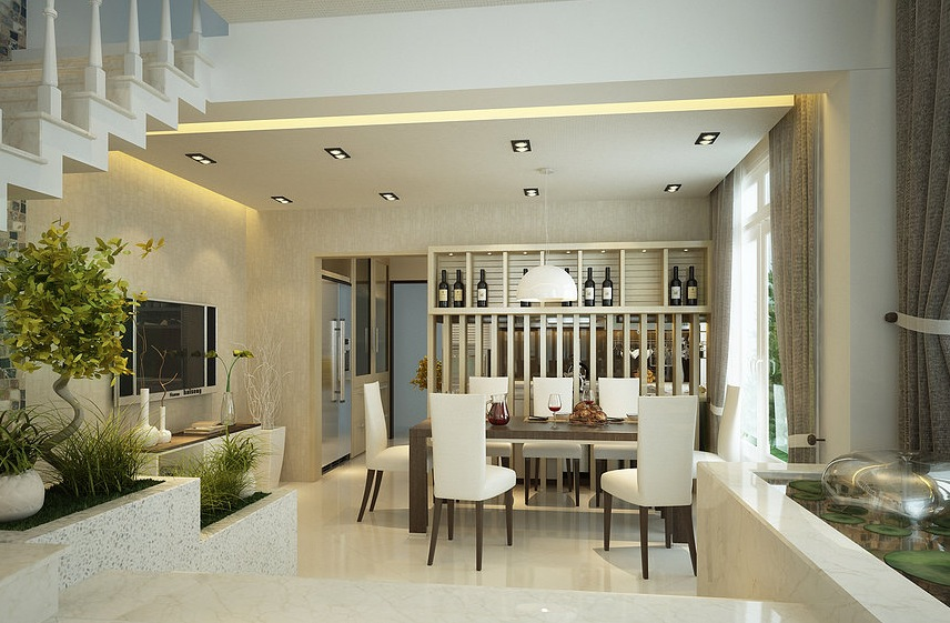 12 Contemporary Dining Room Decorating Ideas Roohome Designs