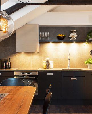 Scandinavian kitchen design style