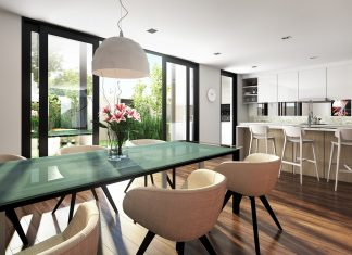 Contemporary dining room decorating ideas