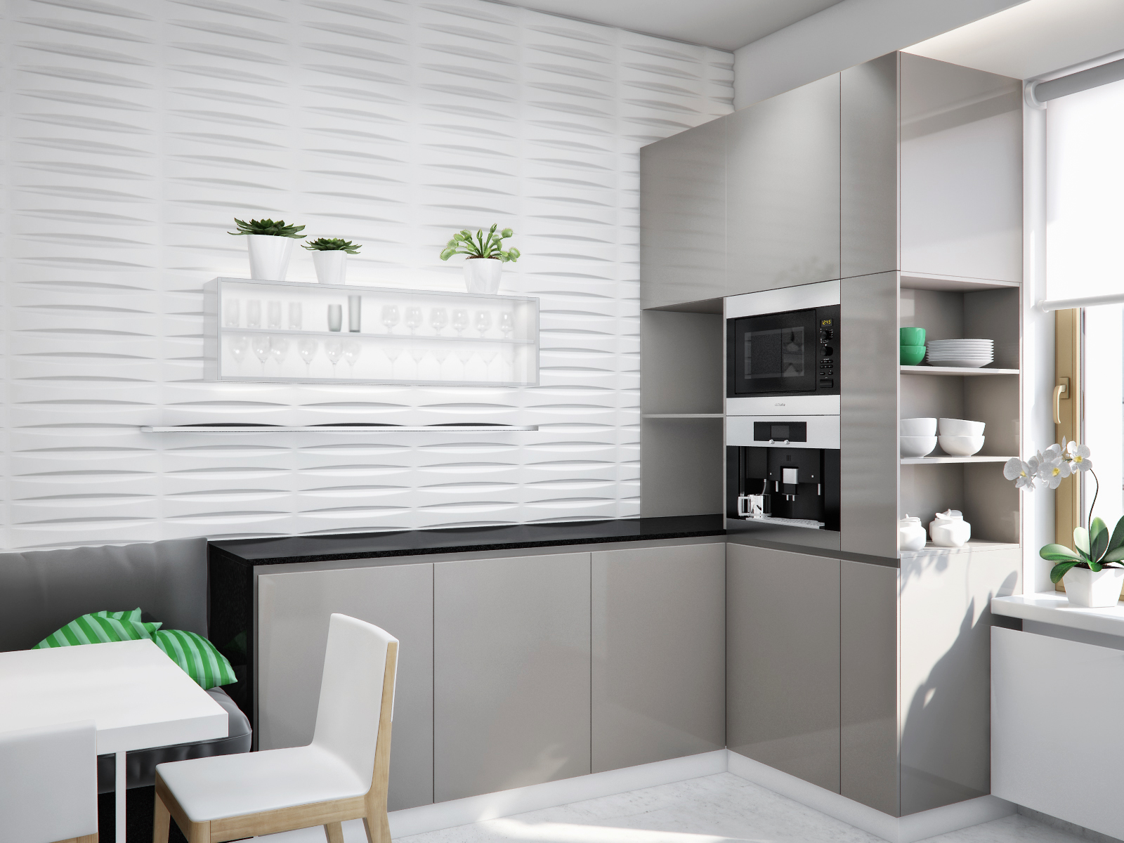 15 Modern Kitchen Backsplash Ideas Which Can Make Your  : Azovskiy Pahomova Architects from roohome.com size 1600 x 1200 jpeg 839kB