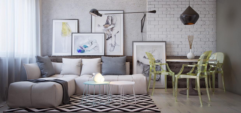 Super tiny apartment design