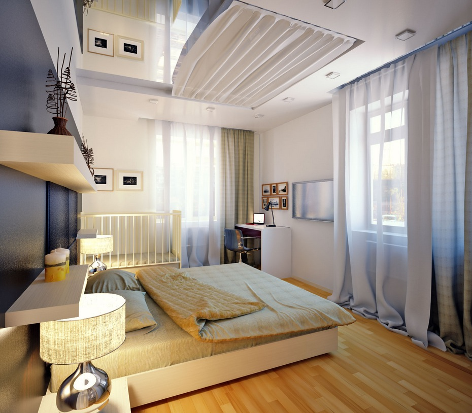 10 beautiful master bedroom design ideas for couple for Beautiful bedroom designs for couples 15