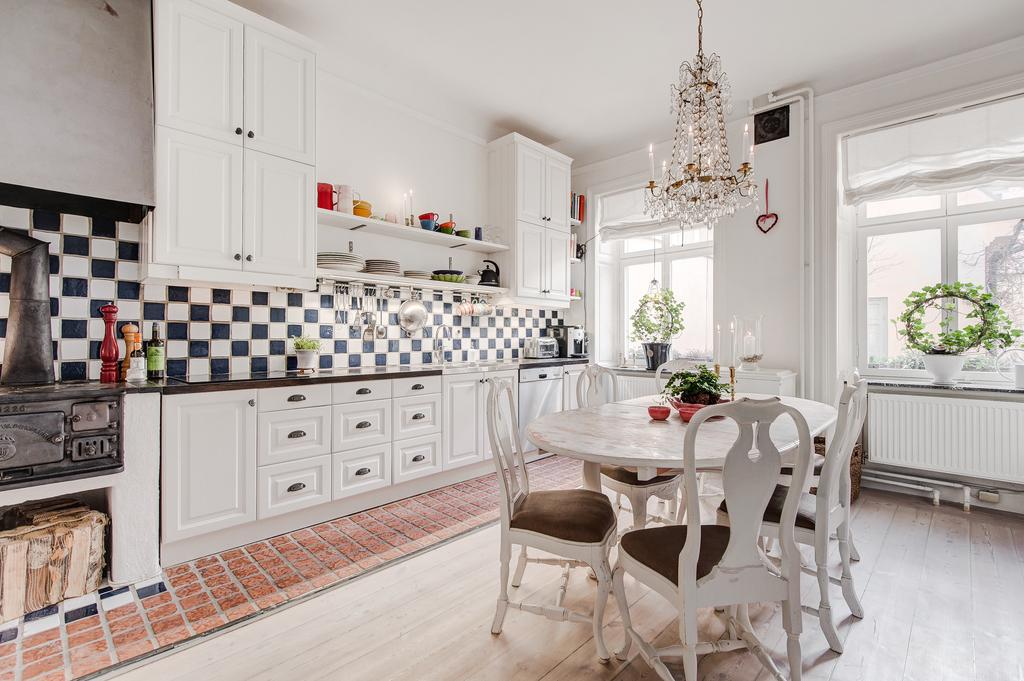 Scandinavian kitchen interior design style