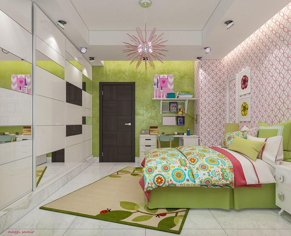Girl's room decorating idea