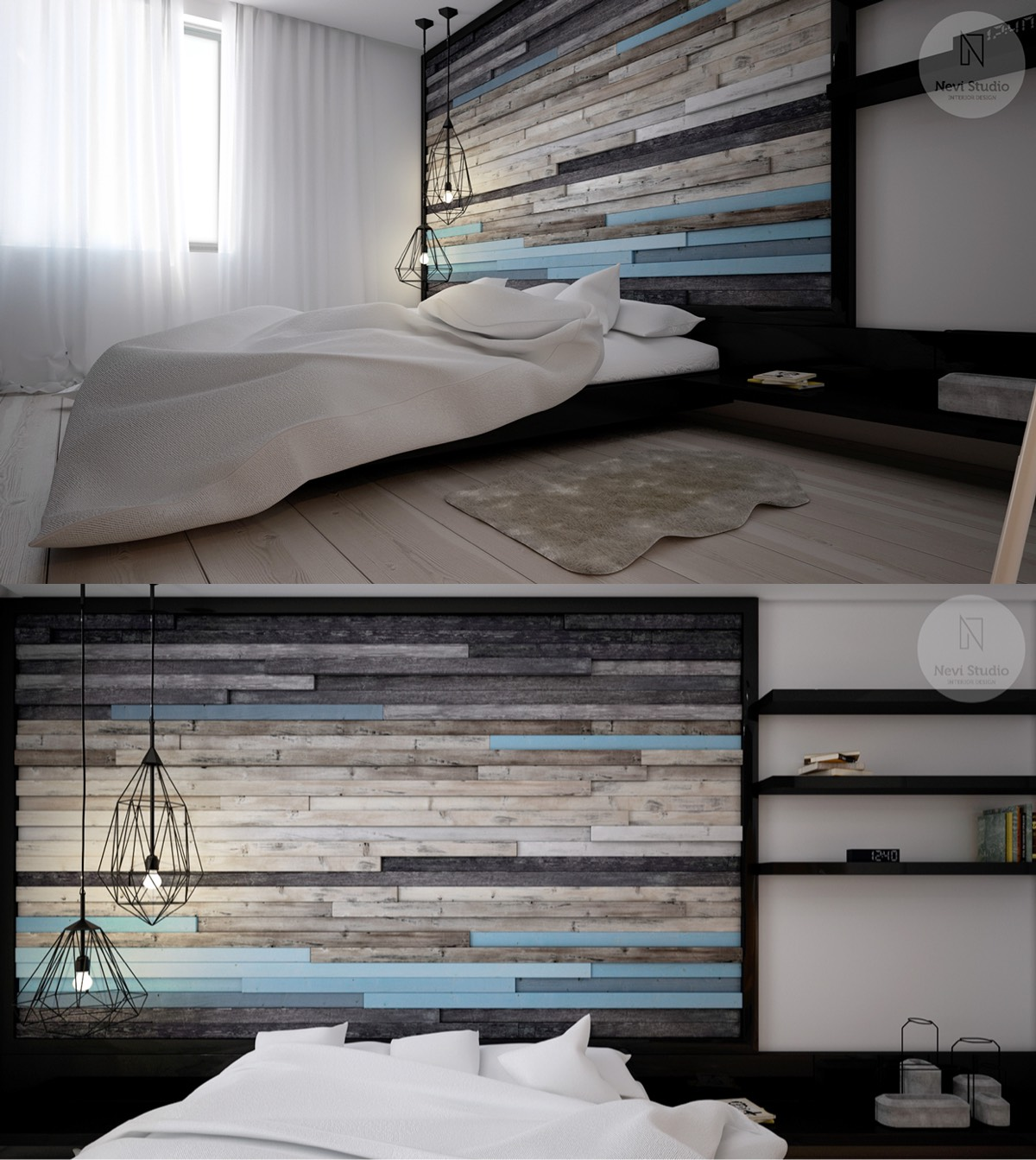 Modern bedroom decorating ideas