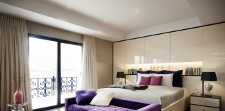 Soft bedroom design for girl