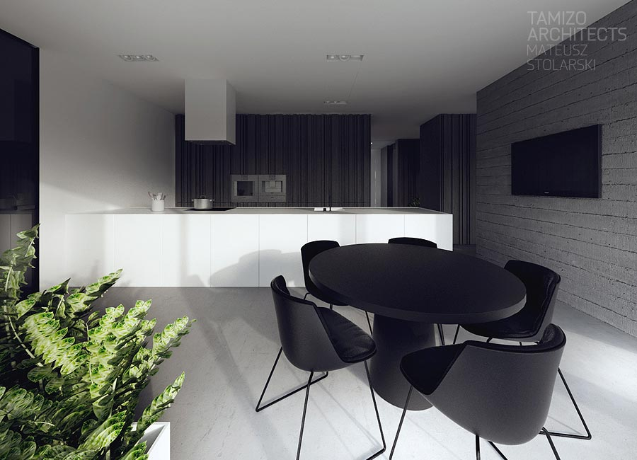 Unique black and white dining room decorating ideas