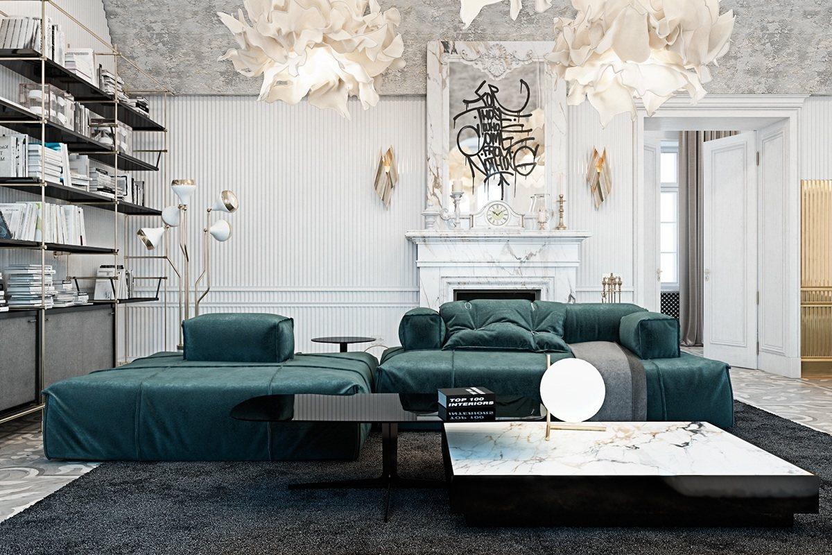Unique living room design
