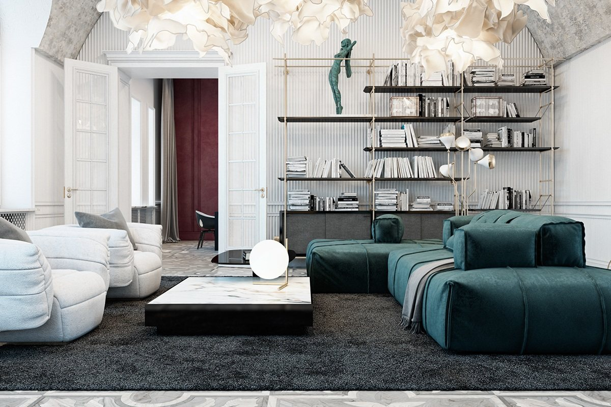 3 Unique Living Room Interior Design Theme And Color Roohome