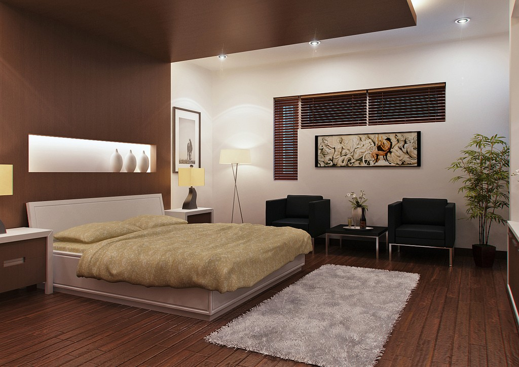 10 beautiful master bedroom design ideas for couple for Beautiful room designs for couples