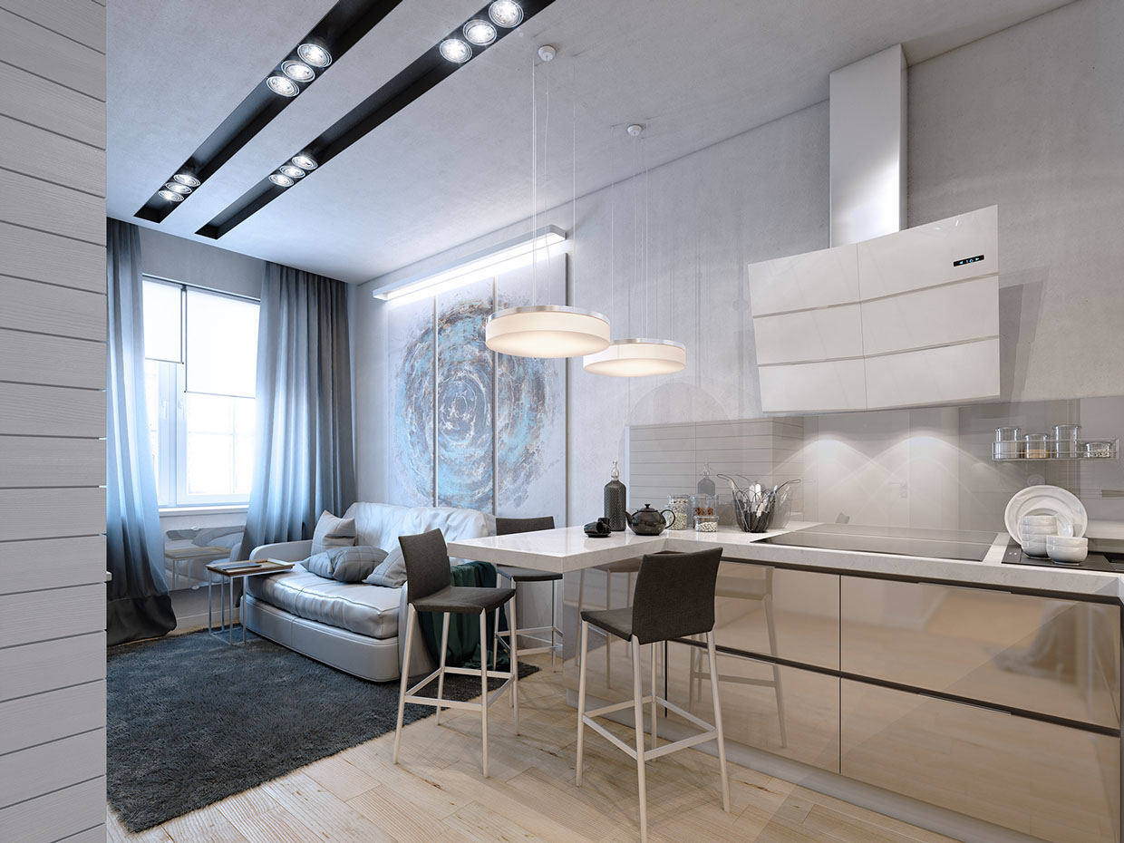 Small apartment design inspiration
