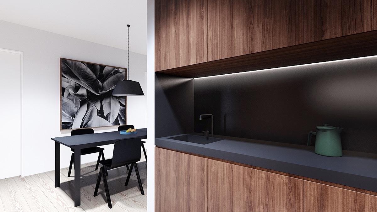 Beautiful apartment interior design