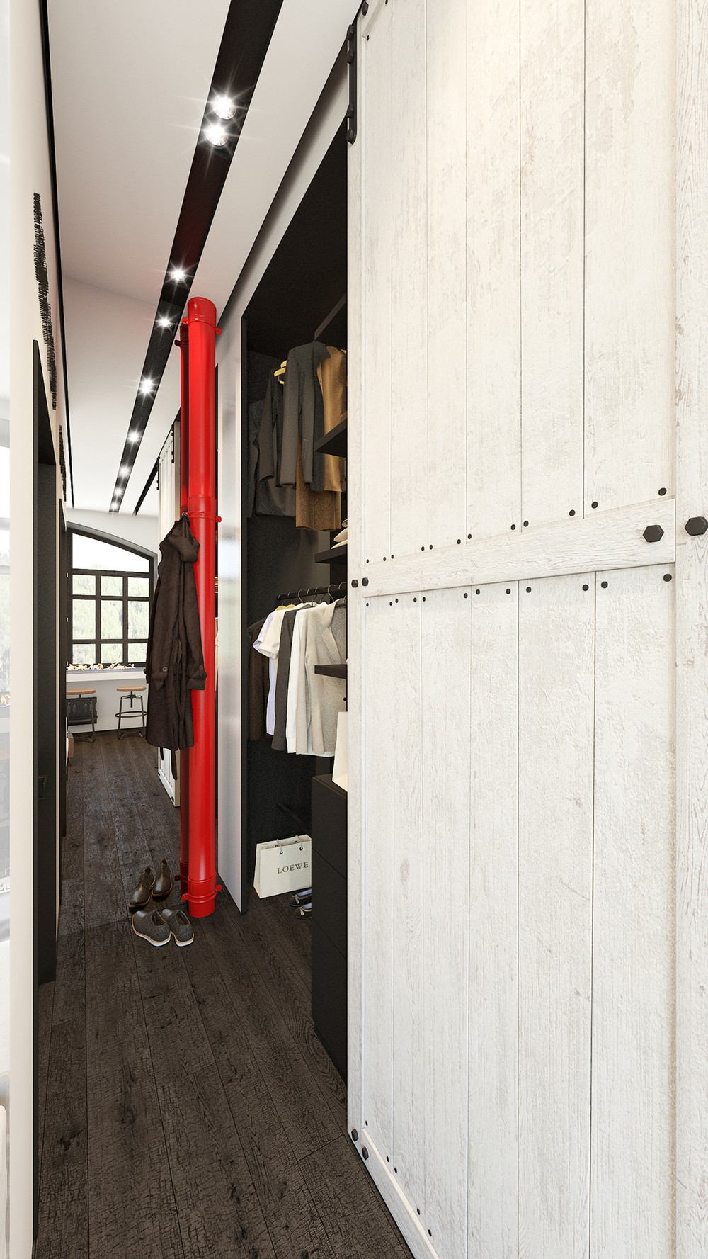 Beautiful wardrobe design