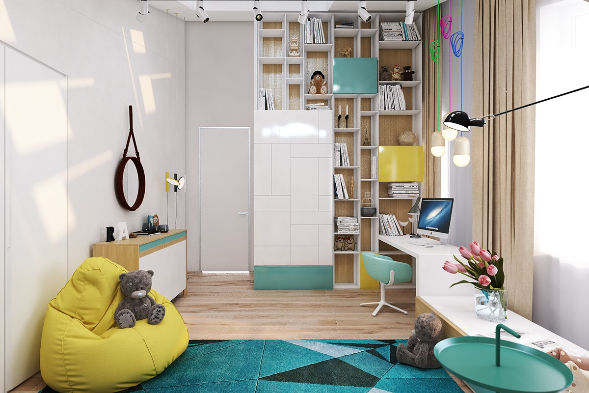 Colorful kids bedroom paint ideas for energetic kids Kids room color ideas