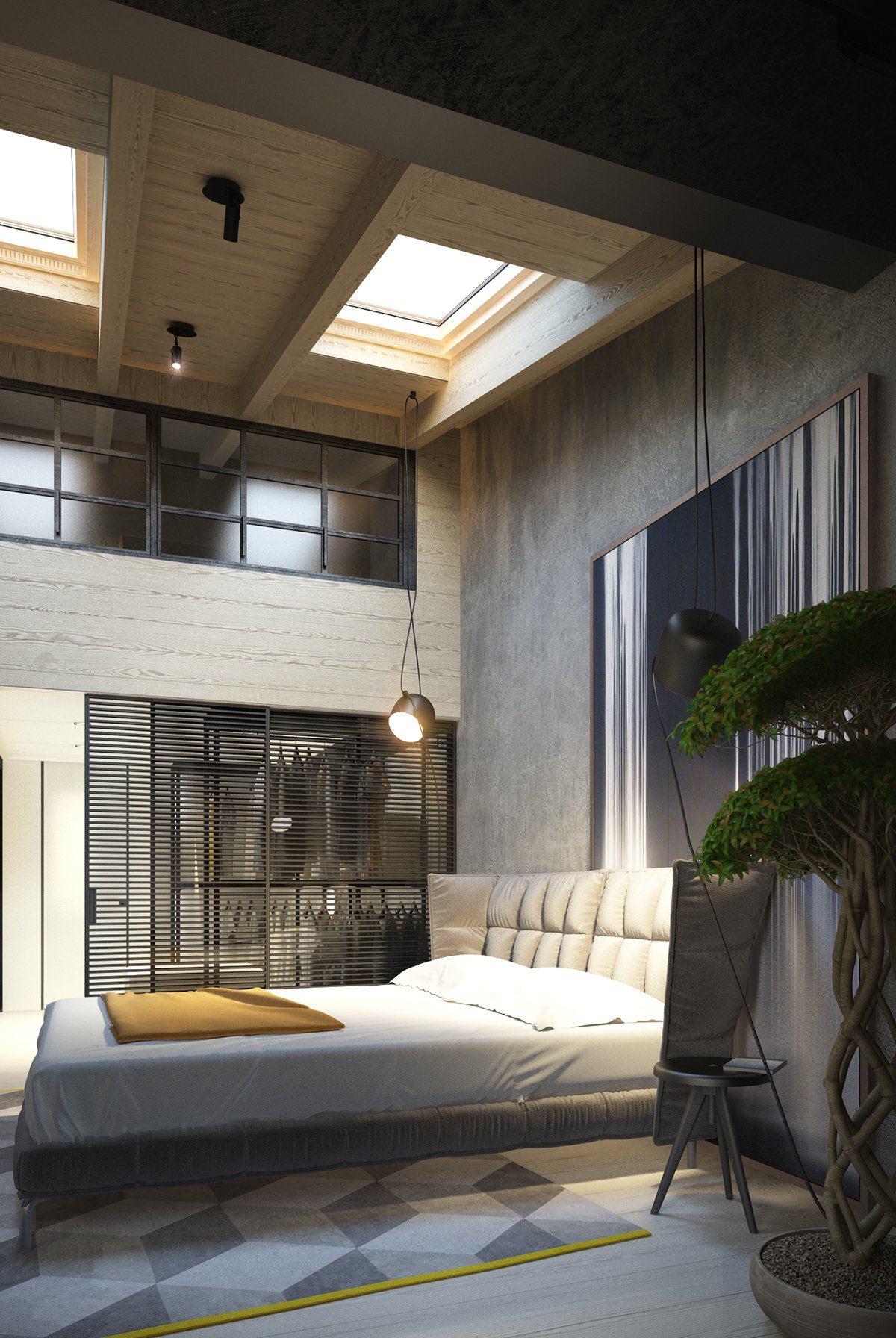 Dark bedroom design styles