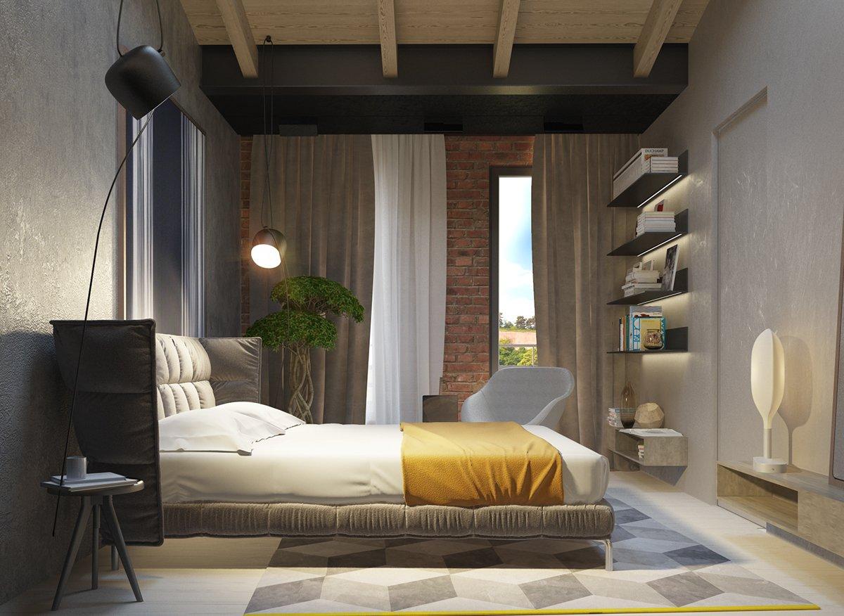 Dark interior design styles for small apartment roohome for Interior design styles for apartments