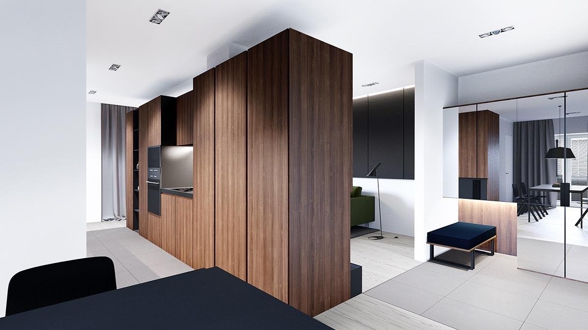 Beautiful apartment interior design styles