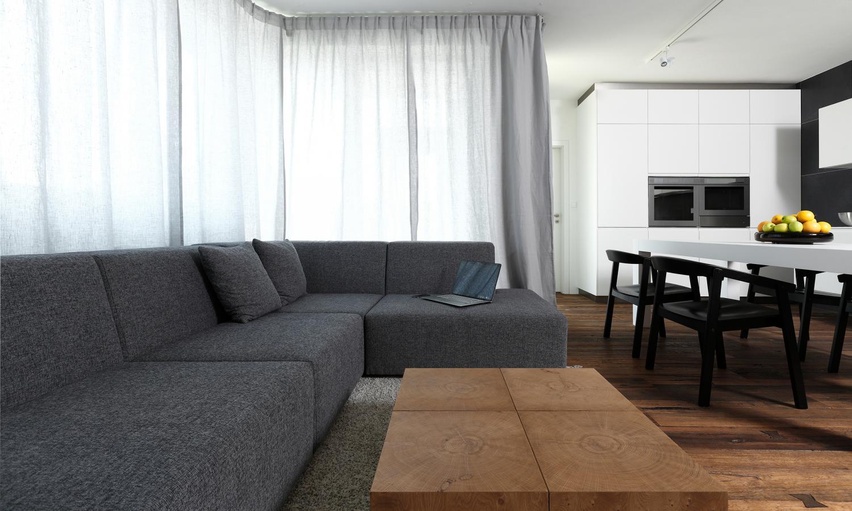 Elegant apartment interior design