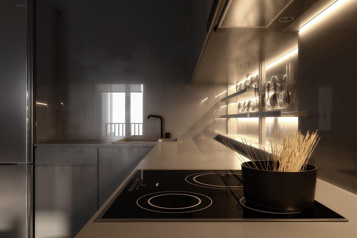 Gray interior design ideas