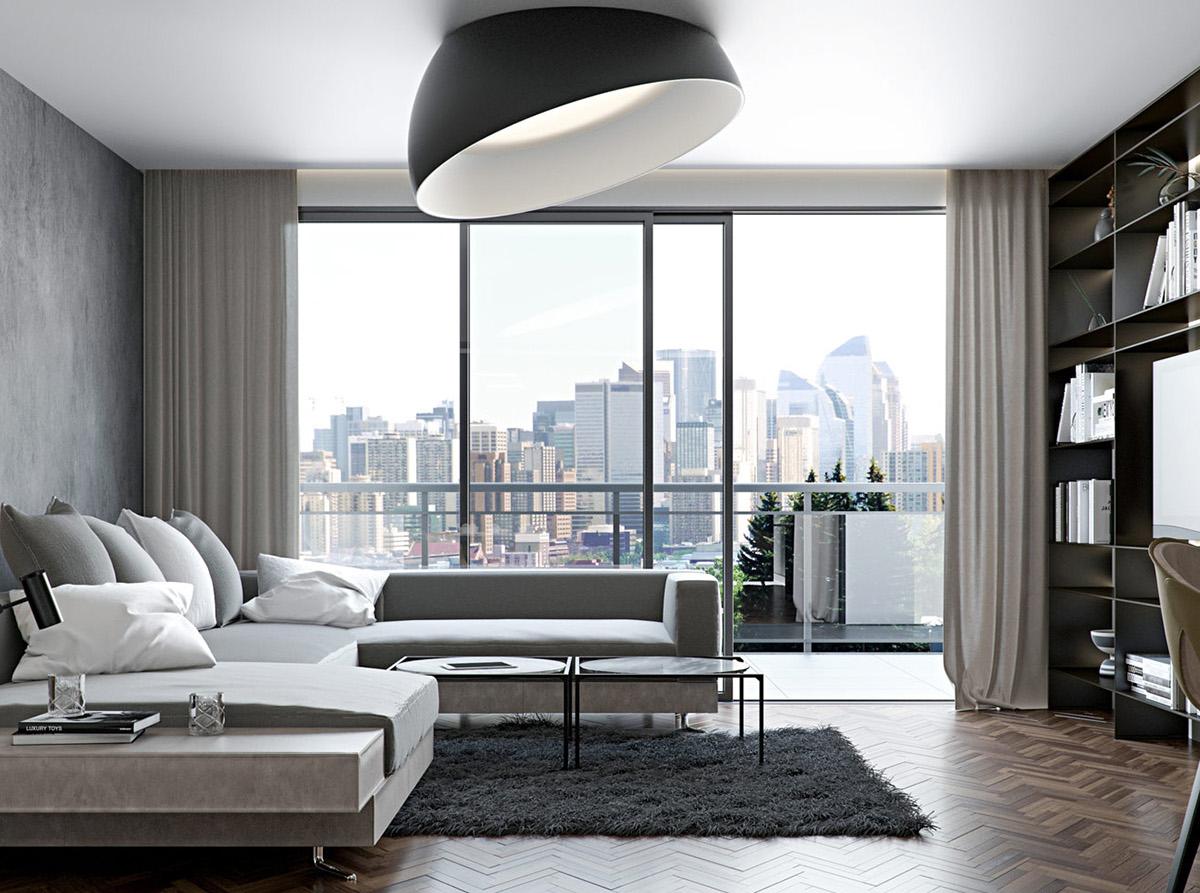 Gtay living room design ideas