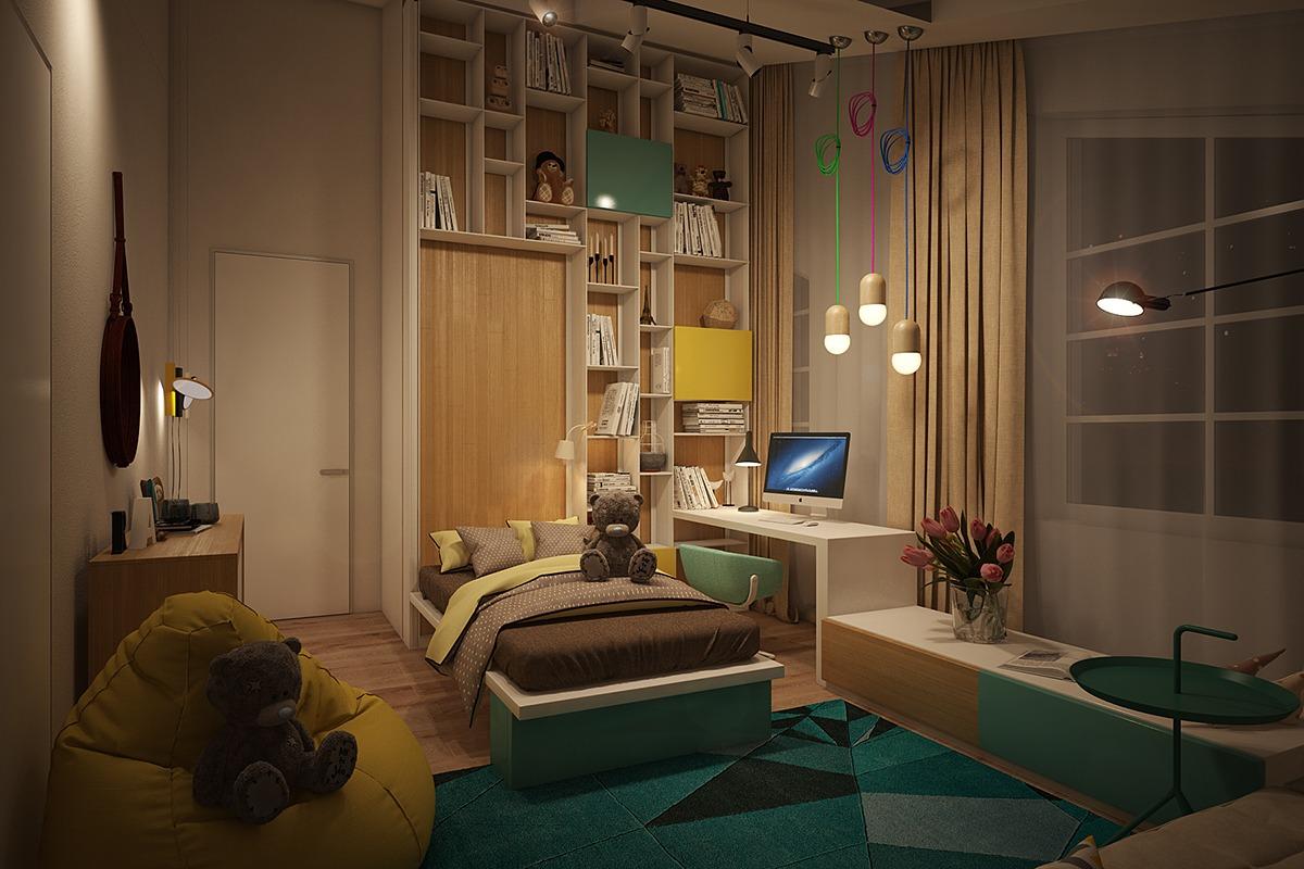 Bedroom color paint ideas for kids