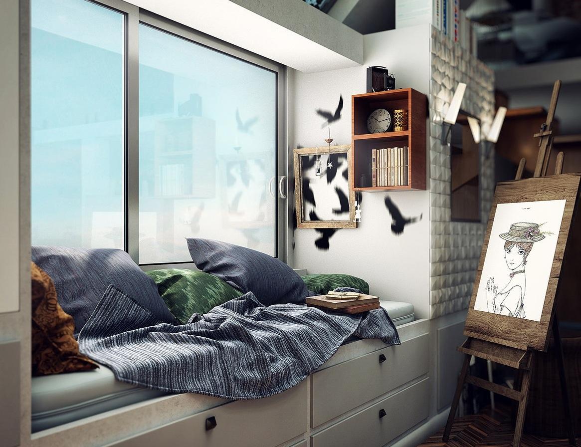 Loft bedroom design ideas