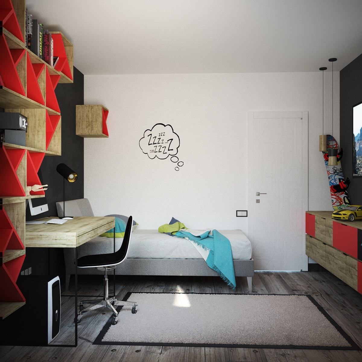 Bedroom color paint idea