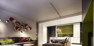 Green apartment decorating ideas
