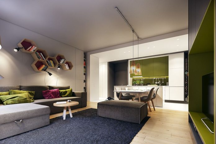 Green apartment decorating ideas