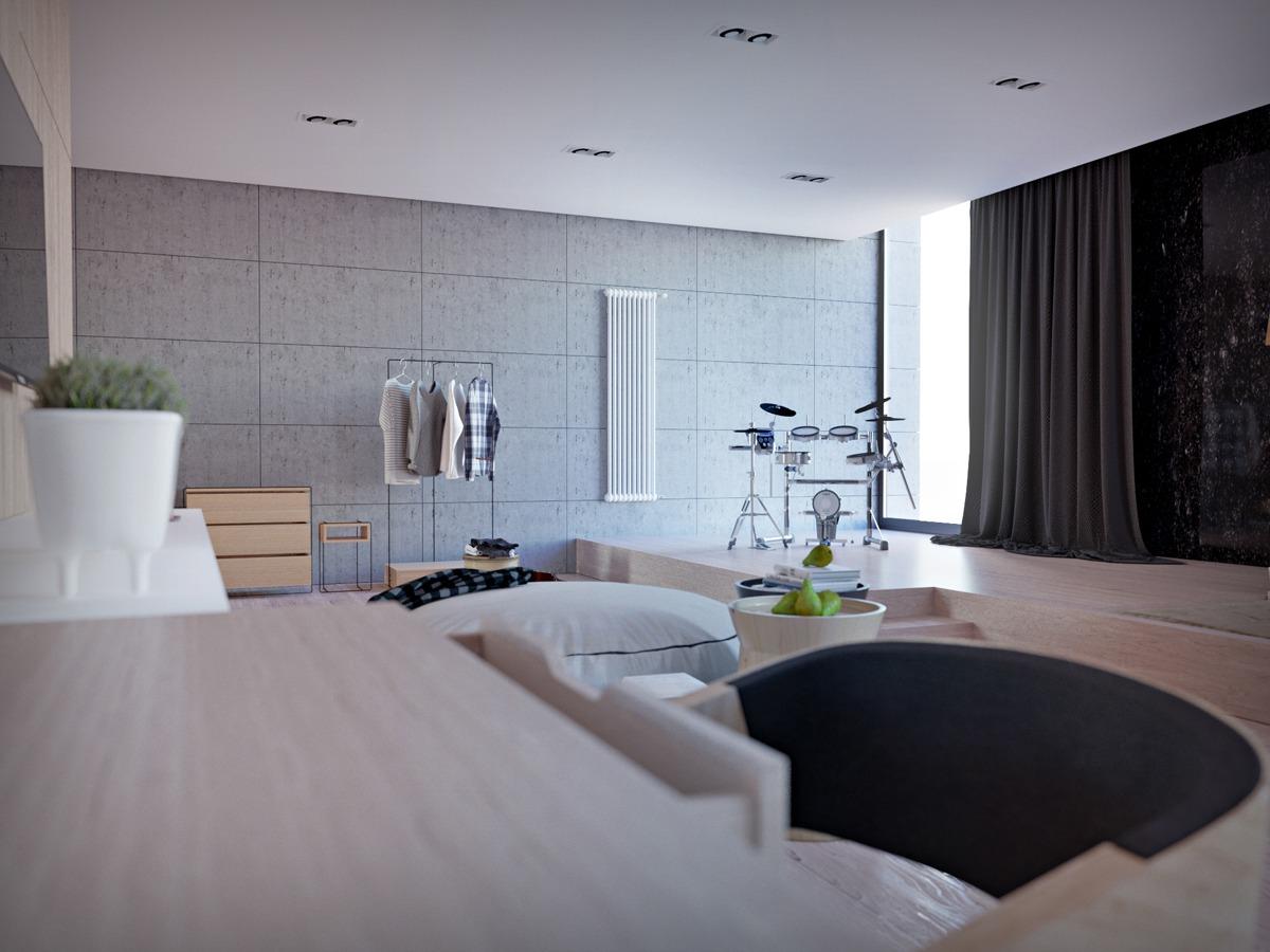 Unique Living Room Designs Unusual Living Room Design Ideas For Open Plan Concept Roohome