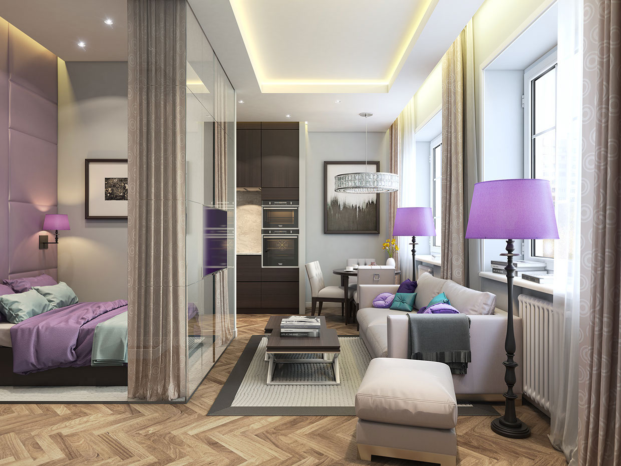 Latest Studio Apartment Design Inspiration By Konstantin Entalecev With Beautiful  Apartment Design Great Ideas