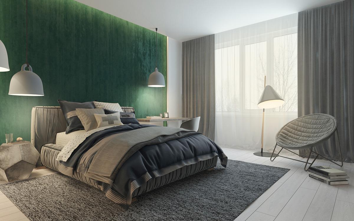 Green bedroom decorating ideas fr teenage