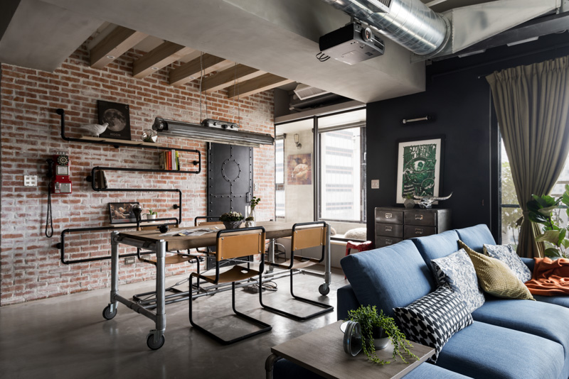 A Stylish Urban Apartment Interior Design Styles Roohome